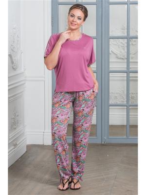 Комплект одежды CLEO. Цвет: малиновый