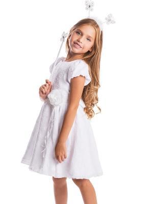 Платье текстильное для девочек PlayToday