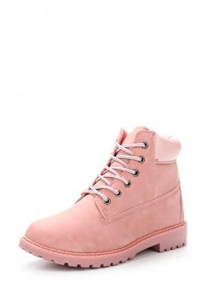 Ботинки Diamantique. Цвет: розовый