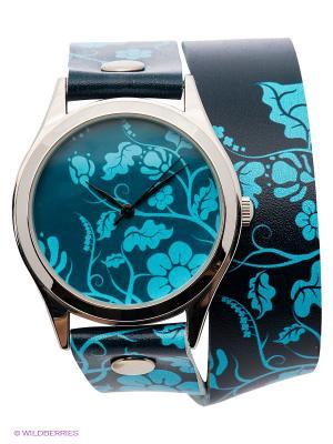 Часы DenisMart. Цвет: синий, голубой, серебристый