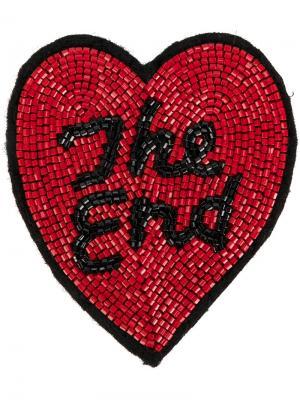 Заплатка  End Olympia Le-Tan. Цвет: красный