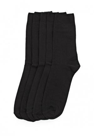 Комплект носков 5 пар. Uomo Fiero. Цвет: черный