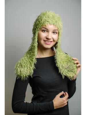 Шапка-ушанка ТТ. Цвет: светло-зеленый