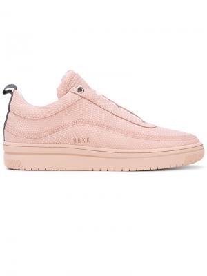 Кеды без шнуровки Nubikk. Цвет: розовый и фиолетовый