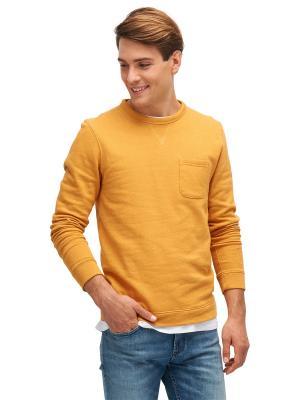 Свитшот TOM TAILOR. Цвет: оранжевый