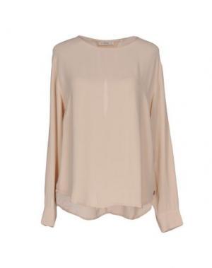 Блузка OTTOD'AME. Цвет: бежевый