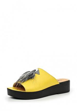 Сабо Grand Style. Цвет: желтый