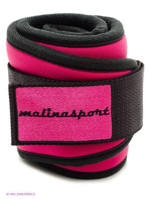 Атлетический пояс Малинаспорт Malinasport. Цвет: розовый