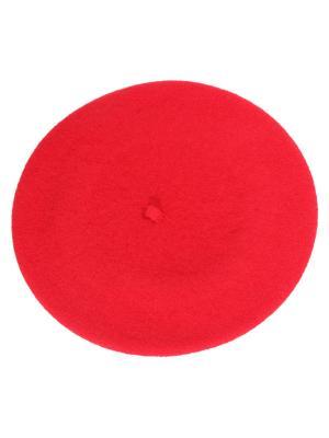 Берет FORTI. Цвет: красный