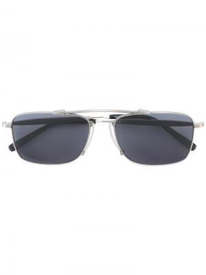 Солнцезащитные очки M3037 Matsuda. Цвет: металлический