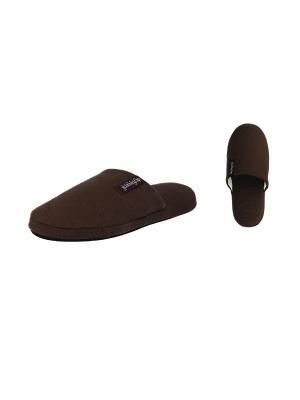 Тапочки De Fonseca. Цвет: темно-коричневый