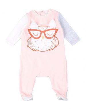 Пижама LITTLE MARC JACOBS. Цвет: светло-розовый
