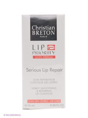Сыворотка для губ восстанавливающая Christian Breton, 15мл, Paris Breton. Цвет: белый