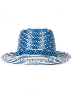 Шляпа Stela Yosuzi. Цвет: синий