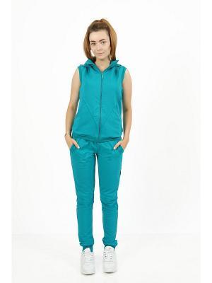 Спортивный костюм CROSS sport. Цвет: темно-зеленый