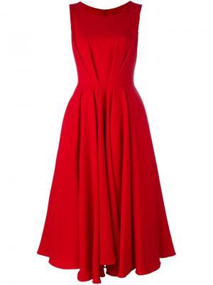 Длинное платье без рукавов Ultràchic. Цвет: красный