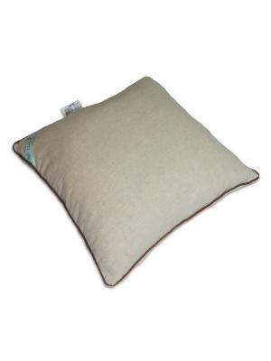 Подушка Кедровая 30х40 в подарочной упаковке SMART-TEXTILE. Цвет: бежевый