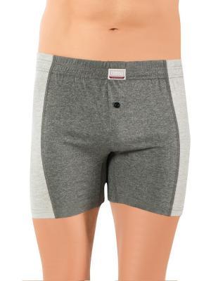 Трусы мужские 3 шт Oztas underwear. Цвет: черный, светло-серый, темно-серый