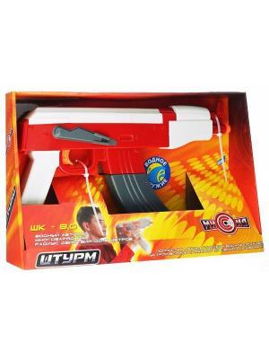 Игрушечное автоматическое водное оружие Штурм DREAM MAKERS. Цвет: красный