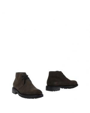 Полусапоги и высокие ботинки CAMPANILE. Цвет: зеленый-милитари