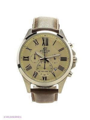 Часы Edifice EFV-500L-7A CASIO. Цвет: белый