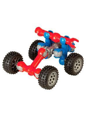 Подвижный конструктор  Гонщик ZOOB 12051. Цвет: красный, серый, синий, черный