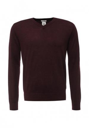 Пуловер Gap. Цвет: бордовый