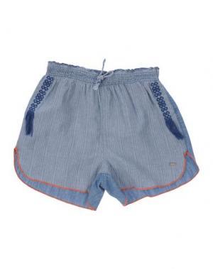 Повседневные шорты SCOTCH R'BELLE. Цвет: синий
