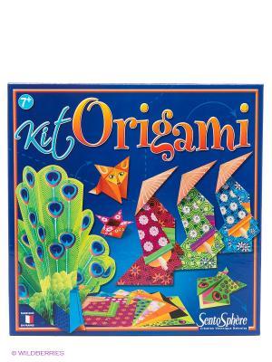 Набор для творчества Оригами SENTOSPHERE. Цвет: темно-синий