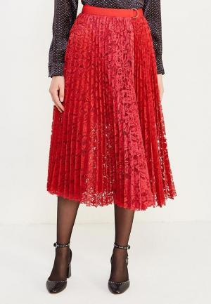 Юбка Liu Jo Jeans. Цвет: красный