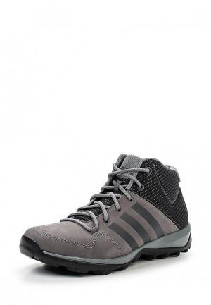 Ботинки adidas Performance. Цвет: серый