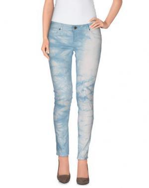 Повседневные брюки CIMARRON. Цвет: небесно-голубой