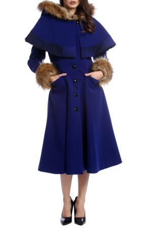 Пальто Moda di Chiara. Цвет: navy