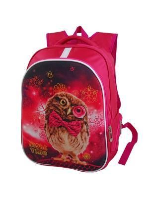 Ранец ученический Stelz. Цвет: светло-коричневый, красный, розовый