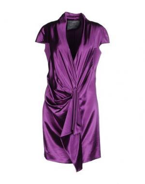 Короткое платье ALBINO. Цвет: розовато-лиловый