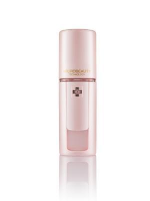 Ультразвуковой портативный увлажнитель для кожи лица, шеи и области декольте -  Microbeauty. Цвет: розовый