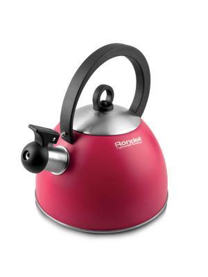 Чайник Rondell RDS-361. Цвет: бордовый