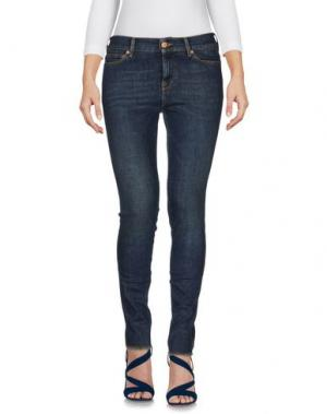 Джинсовые брюки VINTAGE 55. Цвет: синий