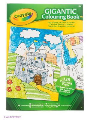 Большая раскраска Crayola. Цвет: зеленый