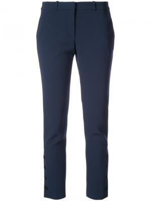 Укороченные брюки узкого кроя Altuzarra. Цвет: синий