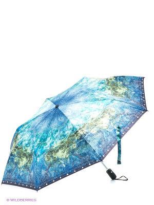 Зонт Eleganzza. Цвет: зеленый, синий