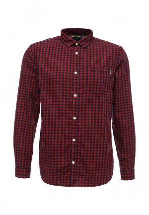 Рубашка Jack & Jones. Цвет: бордовый