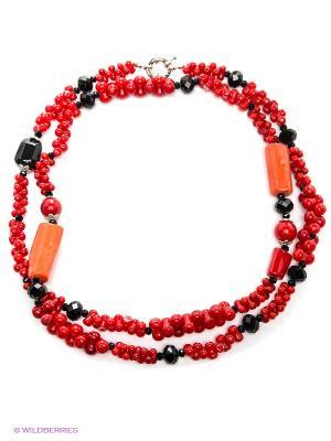 Ожерелье Migura. Цвет: красный