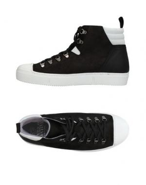 Высокие кеды и кроссовки ENRICO FANTINI. Цвет: черный