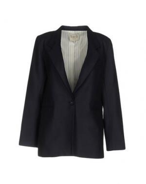 Пиджак SEA. Цвет: темно-синий