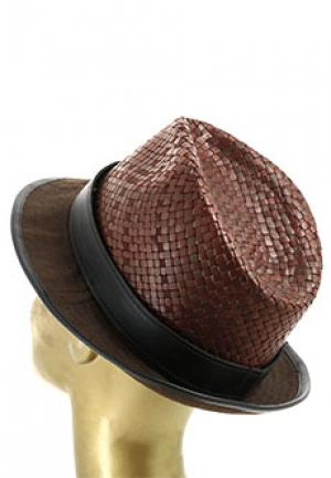 Шляпа SMALTO. Цвет: коричневый
