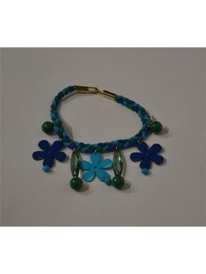 Ожерелье Sergio Bellini. Цвет: синий