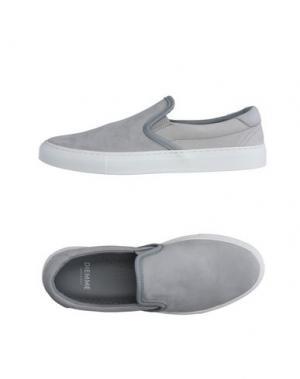 Низкие кеды и кроссовки DIEMME. Цвет: серый