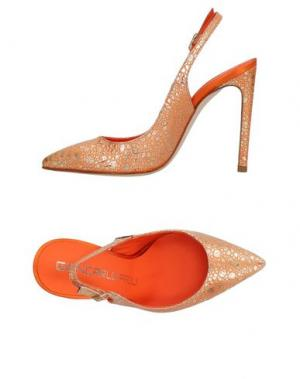Туфли GIANCARLO PAOLI. Цвет: оранжевый
