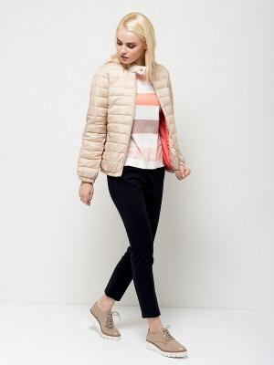 Куртка SELA. Цвет: светло-бежевый